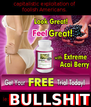 Acai berries are most probably bullshit